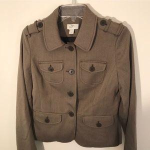 Ann Taylor Loft Brown Blazer Size 4